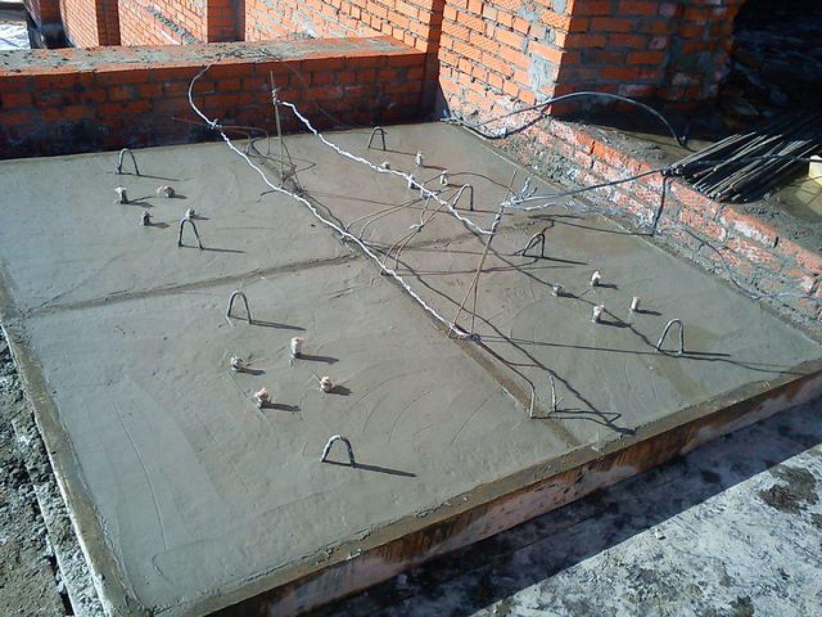 Электродный обогрев бетона зимой