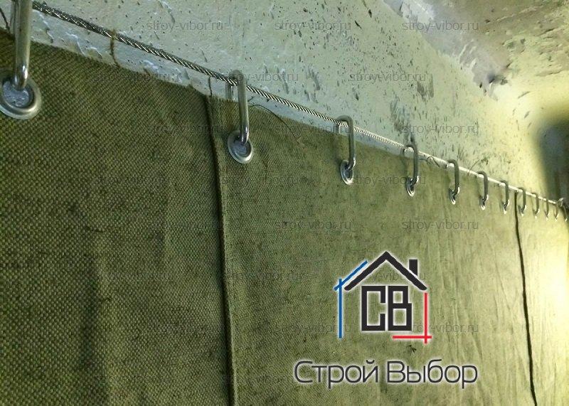 Утепленная штора в гараж: виды, характеристики, назначение